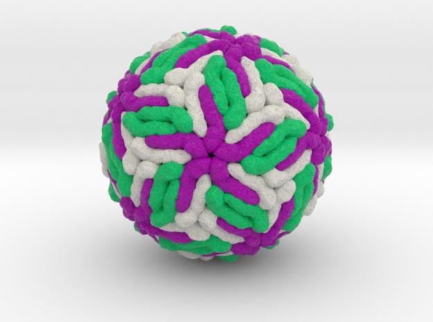Zika Virus in Full Color Sandstone