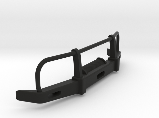 RC Toyota Hilux Bullbar 1:15 scale in Black Natural Versatile Plastic