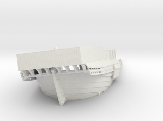 Bremer kogge castle wreck in White Natural Versatile Plastic