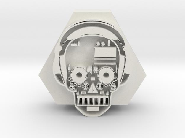 DJ pendant 1 in White Premium Versatile Plastic