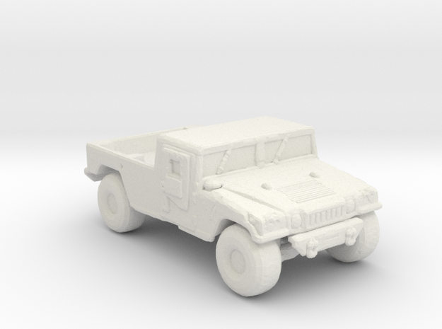 M1038 up armored 285 scale in White Natural Versatile Plastic