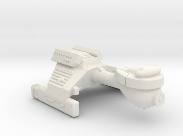 3788 Scale Klingon E3 Escort WEM in White Natural Versatile Plastic