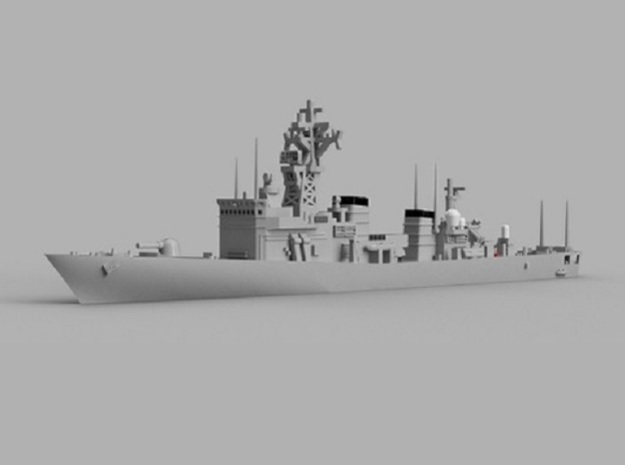 1/1800 JS Abukuma-class destroyer escort in Smooth Fine Detail Plastic