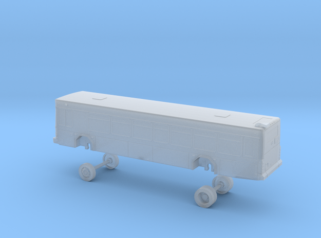 N Scale Bus Gillig Low Floor DART 200s in Smooth Fine Detail Plastic