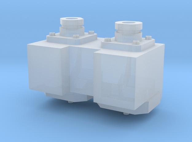 connecteur carburant char leclerc part 2 in Smooth Fine Detail Plastic: 1:16