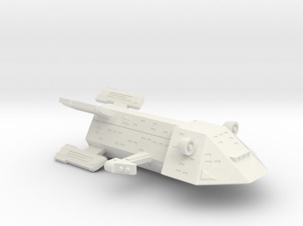 3788 Scale Kzinti Heavy War Destroyer (HDW) SRZ in White Natural Versatile Plastic