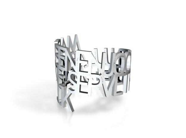 Marleen en Joost servet ring 3d printed