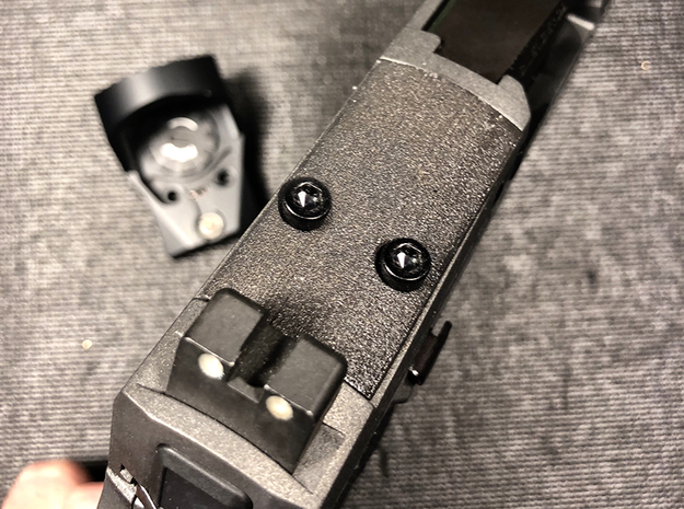 The Void Optic Plate for SIG Romeo P320 RX  in Black PA12