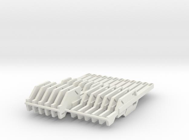 Jedi Temple Guard Keys  in White Natural Versatile Plastic