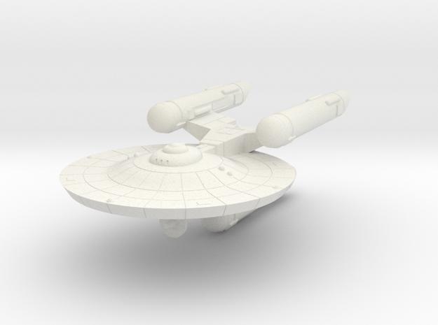 3125 Scale Federation War Destroyer WEM in White Natural Versatile Plastic