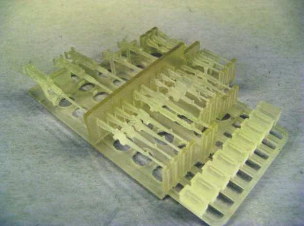 1:72 Weapons Collection (32 pcs.) in Smoothest Fine Detail Plastic