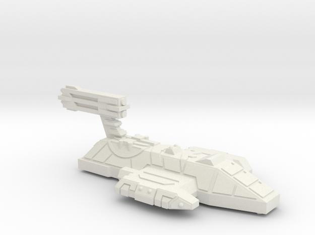 3788 Scale Lyran Refitted Mountain Lion (DND) CVN in White Natural Versatile Plastic