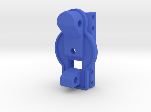 MP5K Receiver Picatinny Mount Adapter in Blue Processed Versatile Plastic
