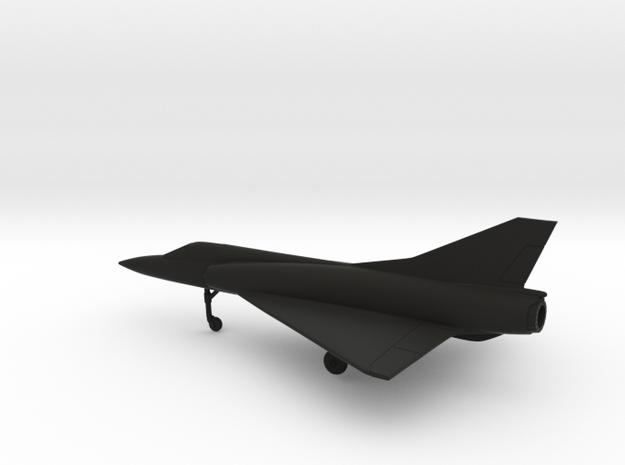 Dassault Mirage III EA in Black Natural Versatile Plastic: 1:160 - N