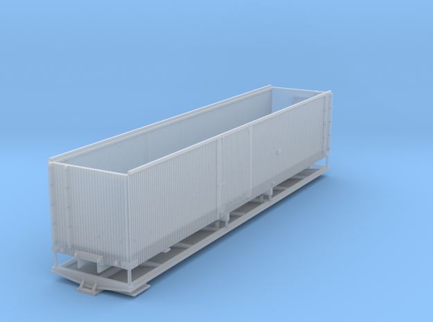 LRRR Box Car 36' HOn3 in Smooth Fine Detail Plastic