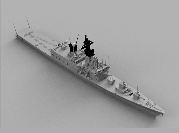 1/1800 JS Shirane-class Helicopter destroyer in Smooth Fine Detail Plastic