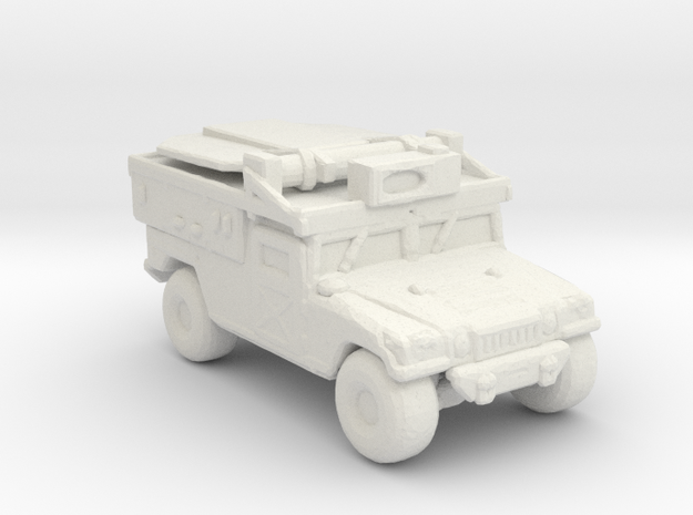 M1097a2 ADS 220 scale in White Natural Versatile Plastic