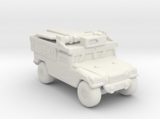 M1097a2 ADS 220 scale in White Natural Versatile Plastic