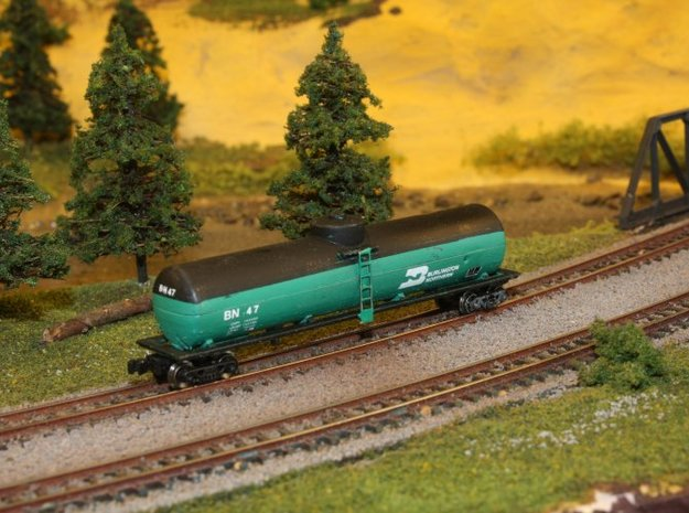 Fuel Tender Parts - Zscale in Smoothest Fine Detail Plastic