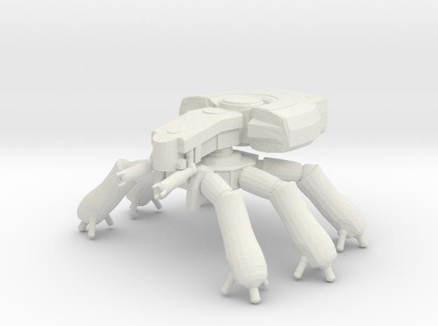T08A3 Spider Tank in White Natural Versatile Plastic