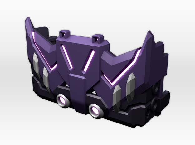 Titans Return Tarn Chestplate in Smooth Fine Detail Plastic