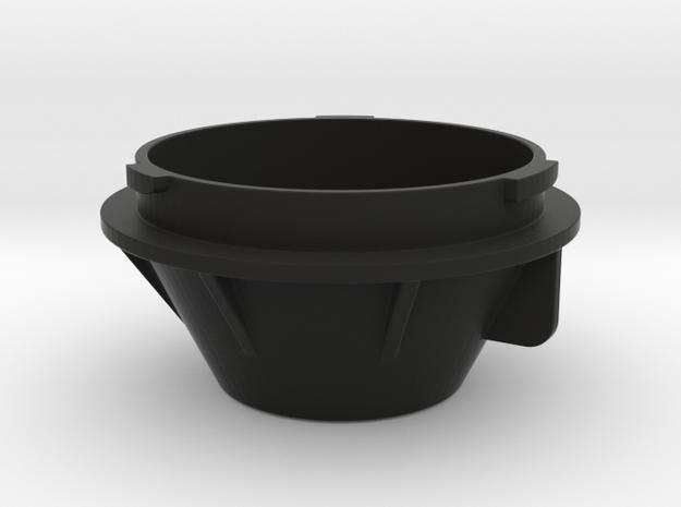 Abdeckkappe LED Leuchtmittel Aprilia Tuono 1100 in Black Natural Versatile Plastic