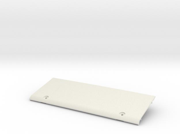Tamiya Blazing Blazer Rear Roof Wing Panel in White Natural Versatile Plastic