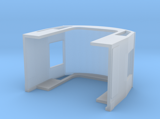 Class 40 Cab in Smooth Fine Detail Plastic