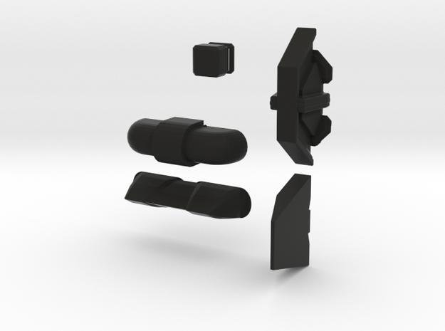 Wall Pack - 2  in Black Natural Versatile Plastic