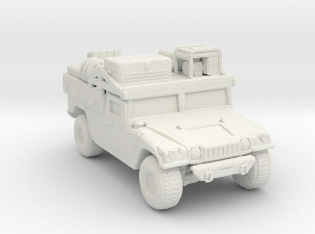 M1097a2 CUSV ver2 220 scale in White Natural Versatile Plastic