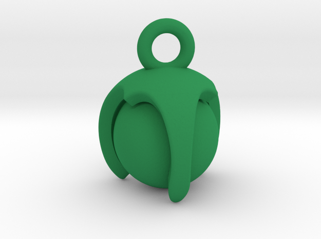 Claw in Green Processed Versatile Plastic