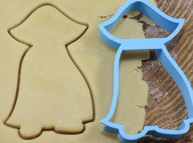 Dracula cookie cutter for professional in White Natural Versatile Plastic