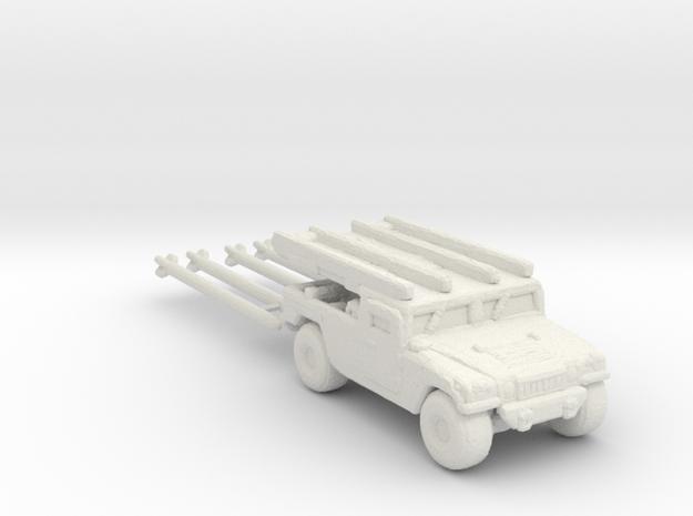 M1097a2 AIM-120B 285 scale in White Natural Versatile Plastic