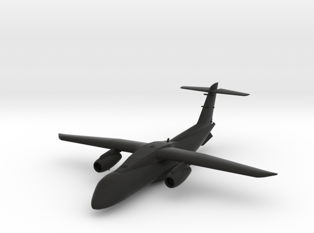 Fairchild Dornier 328JET in Black Natural Versatile Plastic