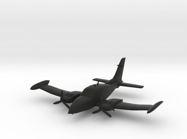 Cessna 310 in Black Natural Versatile Plastic