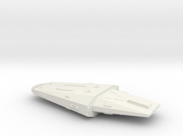 3125 Scale Hydran Heavy Gendarme Police Destroyer in White Natural Versatile Plastic