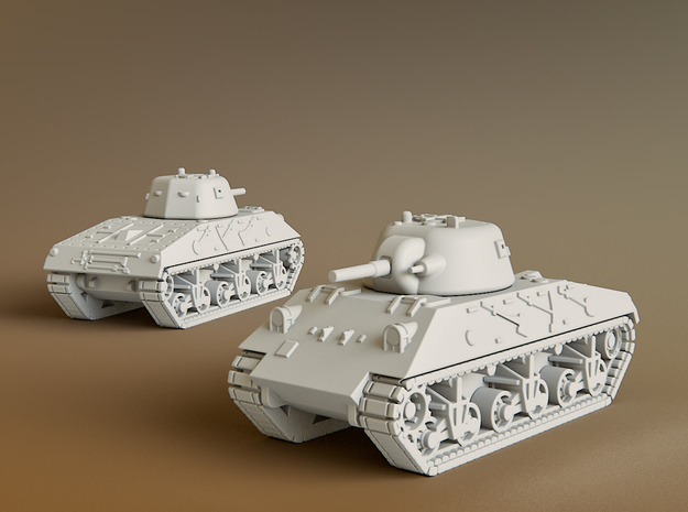 DL43 Nahuel Tank Scale: 1:285 in Smooth Fine Detail Plastic