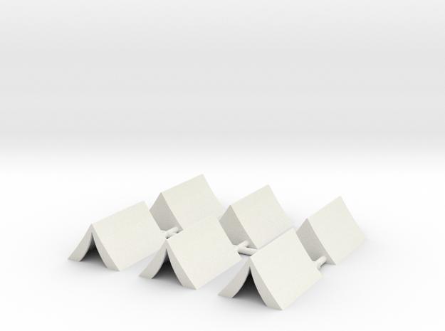 Tent-100x75x50 in White Natural Versatile Plastic