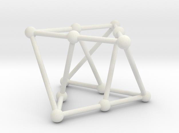 Franklin graph in White Natural Versatile Plastic