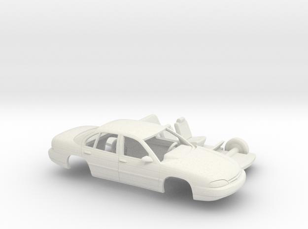 1/43 1994-2000 Chevrolet Lumina Kit in White Natural Versatile Plastic