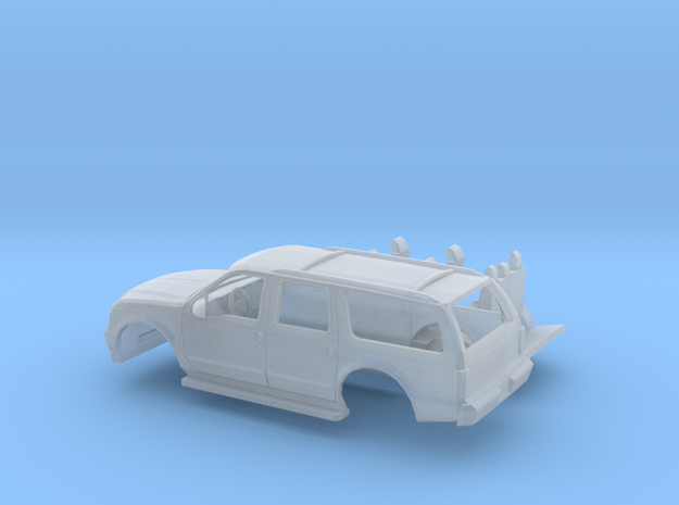 1/160 2000-04 Ford Excursion Kit in Smooth Fine Detail Plastic