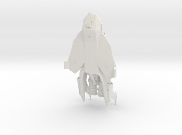 BSG Colonial Raptor in White Natural Versatile Plastic