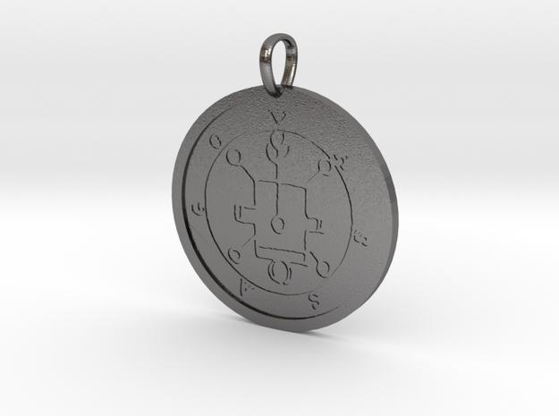 Vassago Medallion in Polished Nickel Steel