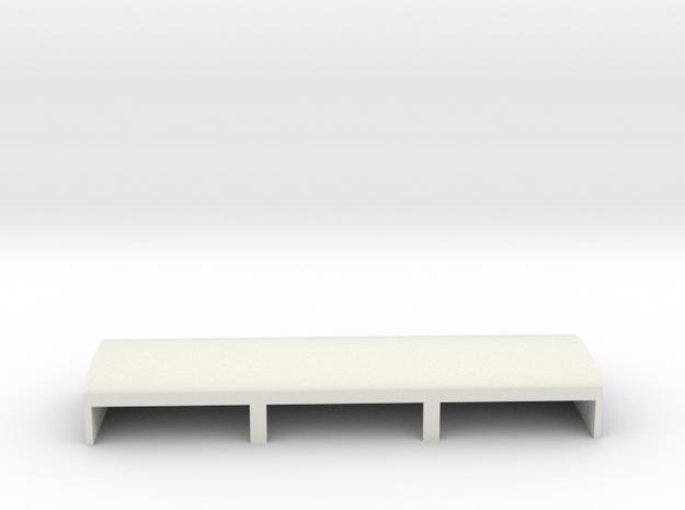 Gardermoen Large Hangers in White Natural Versatile Plastic