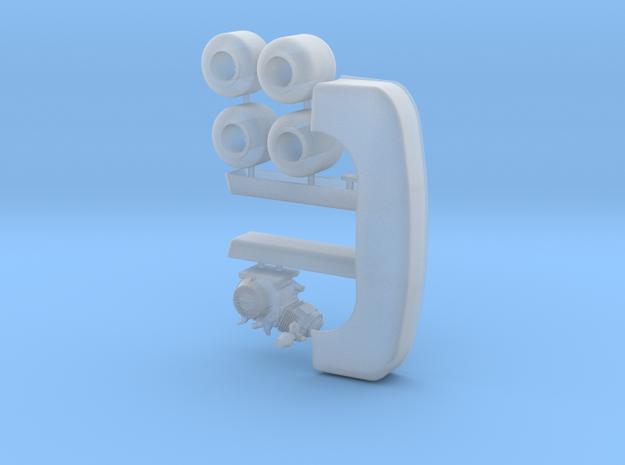 Gocart 1/18 optional pkg 1 in Smooth Fine Detail Plastic