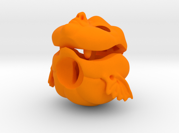 Dollhead Pumpkin Jack YoSD in Orange Processed Versatile Plastic