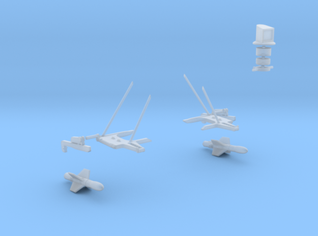 Westland Wessex Weapon Platform with AS.12 Missile in Smooth Fine Detail Plastic: 1:72