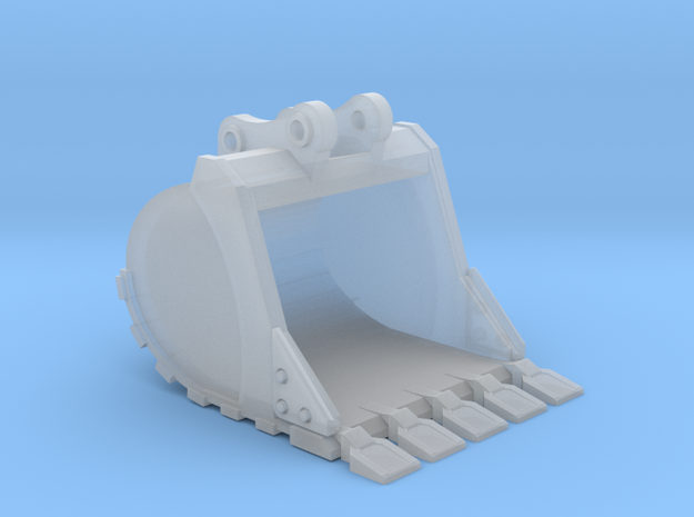 "1:50 42"" PC138 Bucket+ Spade teeth in Smooth Fine Detail Plastic"