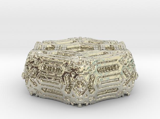 Alien Ornament.02 in 14k White Gold