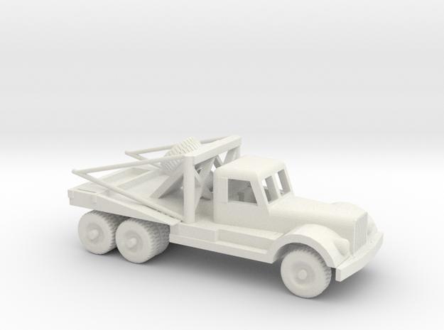 1/64 ScaleDiamond T Wrecker in White Natural Versatile Plastic
